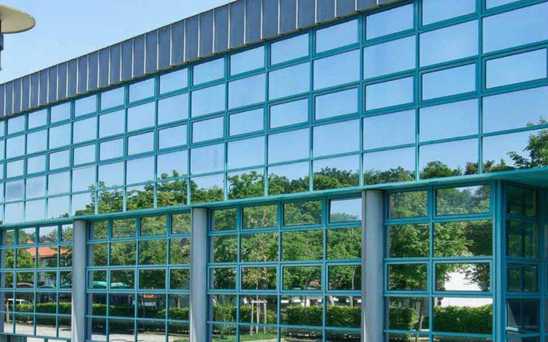 نماهای شیشه